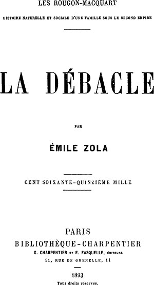 The Debacle (1892) by Émile Zola (1840-1902)