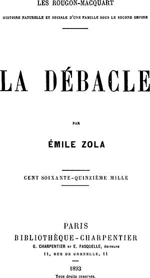 La Débâcle cover