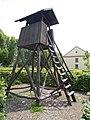 Zsigmond Széchenyi Hunting Museum Park, tower, 2017 Hatvan.jpg