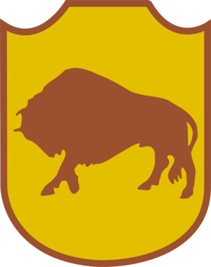 5th Kresowa Infantry Division - Emblem of the division worn as a shoulder patch and painted on vehicles