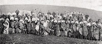 Zulu 1964 film wikipedia historical picture of zulu warriors from about the same time as the events depicted in zulu stopboris Images