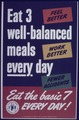"""""""Eat 3 Well-Balanced Meals Everyday Eat the Basic Seven Everyday"""" - NARA - 514201.tif"""