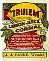 'Trulem' Lemon Juice Cordial label (6954616263).jpg