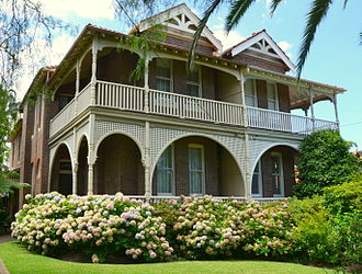 May Gibbs - Derry, Neutral Bay, where May Gibbs lived for a time before she lived at Nutcote.