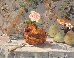Brioche with Pears