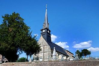 Notre-Dame-de-Courson - Image: Église Notre Dame de Notre Dame de Courson (1)