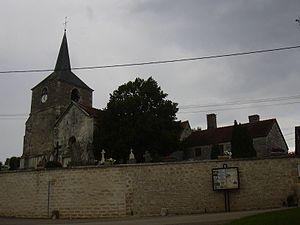 Rouvres-les-Vignes - Image: Église Saint Maurice de Rouvres les Vignes 2