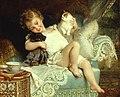 Émile Munier, 1885 - Favourite pets - Trois amis.jpg