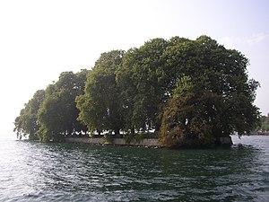 Île de la Harpe - View from the shore