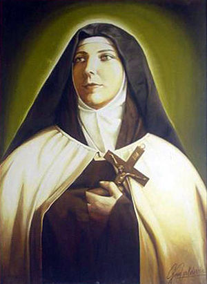 Teresa of the Andes - Oil painting commemorating her beatification.