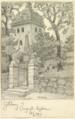 Örgryte gamla kyrka. Boberg 1917.png