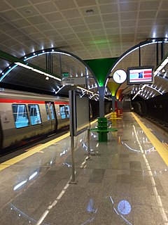 M6 (Istanbul Metro) line of the Istanbul Metro
