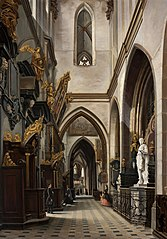 Aisle of the Wawel Cathedral