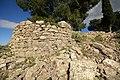 Αρχαία Λιμναία, κυκλικός πύργος στο νότιο δυτικό άκρο. - panoramio.jpg
