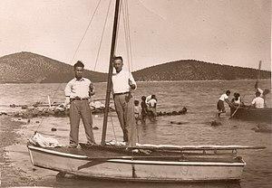 Παλιό λιμάνι Σκάλας Αταλάντης 1945.jpg