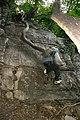 Аматор на скелі. Ущелина Хапхал. Крим..JPG