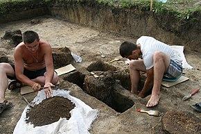 Археологические раскопки на месте Албазинского острога (2014 г.).JPG