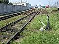 В'їзд до локомотивного депо ТЧ-5 «Гречани».jpg