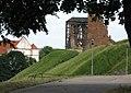 Выгляд з гары Міндоўга на касцёл і замак.jpg