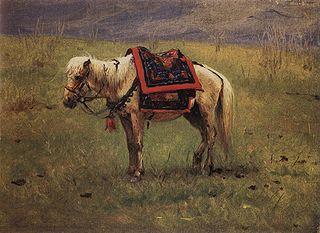 Гималайский пони, 1875