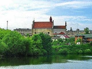 Husiatyn Urban locality in Ternopil Oblast, Ukraine