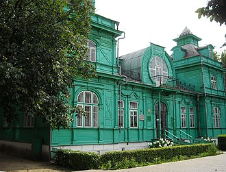 Babruysk - The old library building of Babruysk.