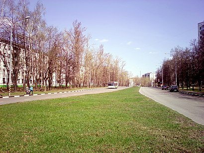 How to get to Кавказский Бульвар with public transit - About the place