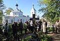 Казанская церковь Срезнево, Шиловский район, Рязанская область, могила И.И.Срезневского.jpg