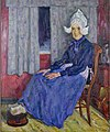 Лаховский - Бретонка в синем платье.jpg