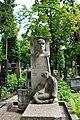 Личаківське, Могила Дзиндри Є. В., українського скульптора.jpg