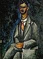 Машков И. И., Портрет поэта. 1910г.jpg