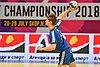М20 EHF Championship FAR-MKD 28.07.2018 SEMIFINAL-6401 (41888653050).jpg