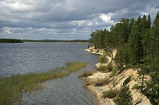 District in Murmansk Oblast, Russia