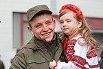 Президент України Петро Порошенко привітав молодих офіцерів з випуском 2874 (16919146056).jpg