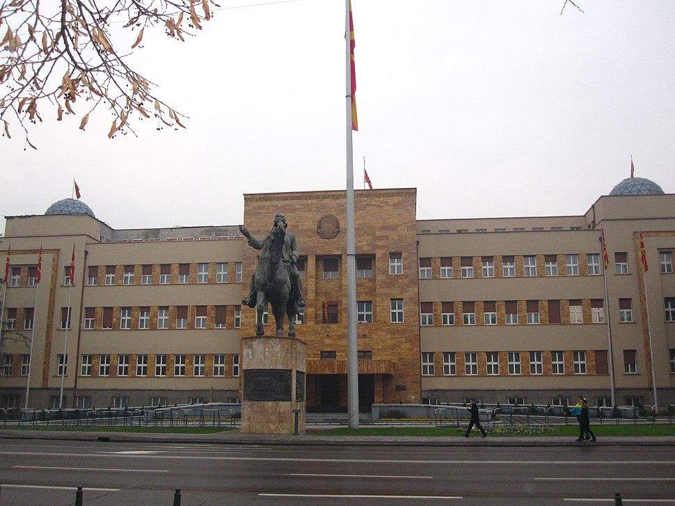 Споменик на Никола Карев и Собрание на РМ