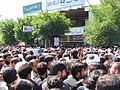 تشییع جنازه آیت الله محمد تقی بهجت در قم Burials in Iran Grand Ayatollah Mohammad Taqi Bahjat Foumani 05.jpg