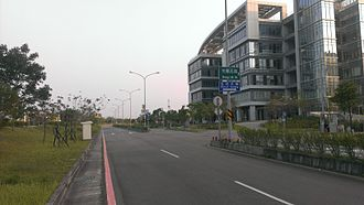 Science park - Hsinchu Biomedical Science Park in Taiwan