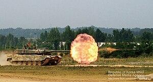 K2 Black Panther - K2 Black Panther firing