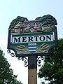-2011-05-19 The village sign, The Green, Merton, Norfolk (1).jpg