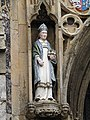 -2019-07-15 Porch statue of Saint Nicholas, North Walsham.JPG