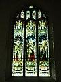 -2020-02-07 South wall stained glass window, Saint Nicholas Church, Trunch Road, Swafield.JPG