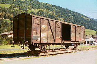 Piggyback (transportation) - Image: 001015 gauge buster