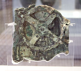 Kythira - Antikythera mechanism, National Archaeological Museum, Athens