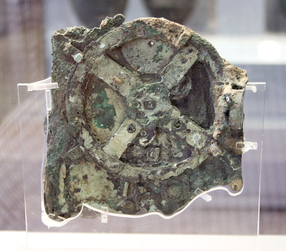 0142 - Archaeological Museum, Athens - Antikythera mechanism - Photo by Giovanni Dall%27Orto, Nov 11 2009
