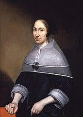 Portrait of Christine van der Wart (1620–1666)