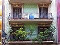 033 Cases Antoni Par, c. Gran de Gràcia 262-264 (Barcelona), balcons.jpg