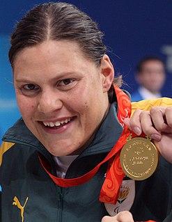 Natalie du Toit South African swimmer
