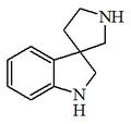 1,2-dihydrospiro indole-3,3'-pyrrolidine.png