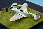 1-48 scale Hawk 75, Armee de l'Air, AMV 2012 Show, Hyeres. (8130911591).jpg