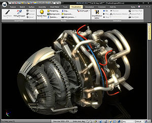 IRONCAD user interface